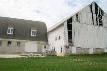 Before: Barn restoration by Stable Hollow Construction