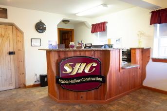 Stable Hollow Construction's Main Office and Shop