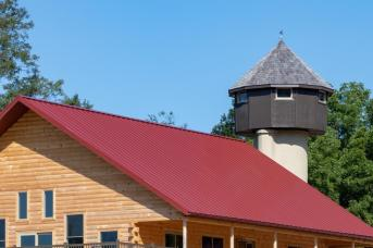 Viewing tower at Fox Run Retreat