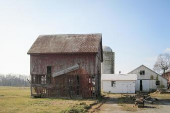 Barn before restoration