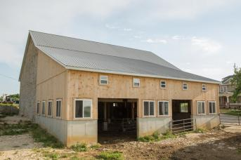 Bank barn restored by SHC.