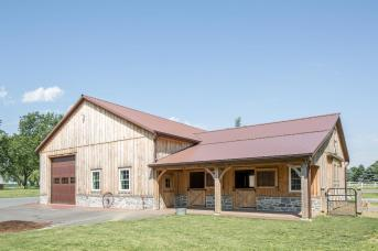 Shop and Horse Barn by Stable Hollow Construction