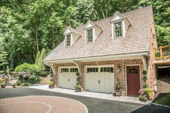 Garage Built to Match House