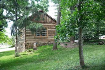 Log cabin restored by Stable Hollow Construction