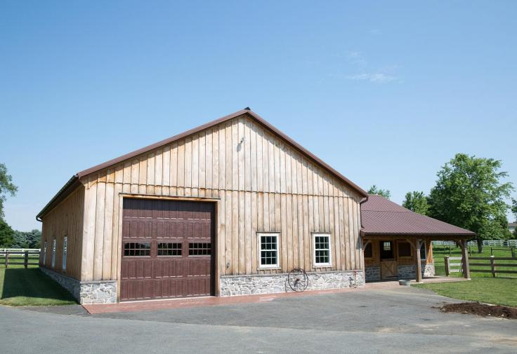 Manheim Pa Horse Barn Stable Hollow Construction