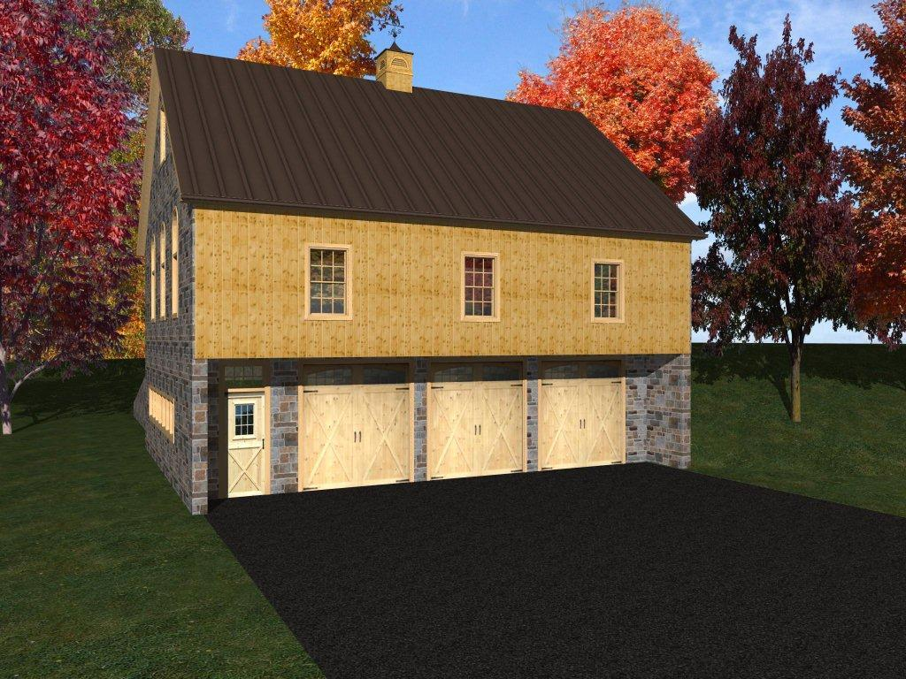 Bank Barn Design Stable Hollow Construction
