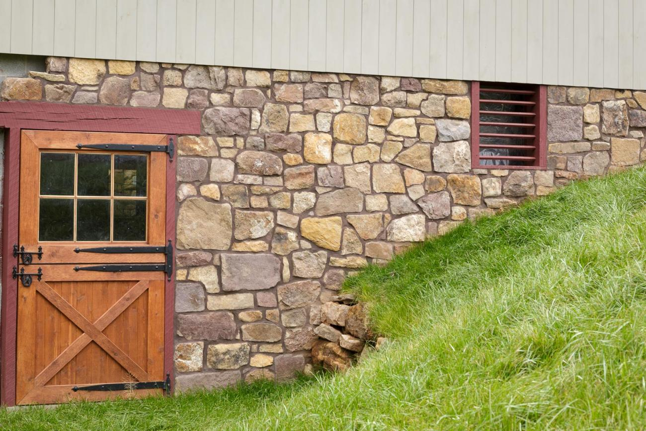 Bank Barn Overhang Dutch Door