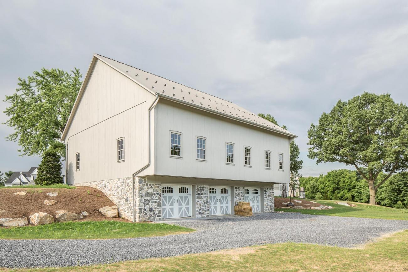 Lititz Pa Bank Barn Stable Hollow Construction