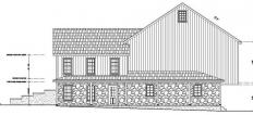 Barn blueprint by Stable Hollow Construction