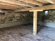 Barn Beams Restoration