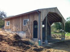 Work in progress by Stable Hollow Construction.