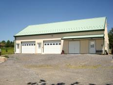 Shop / Garage built by Stable Hollow Construction
