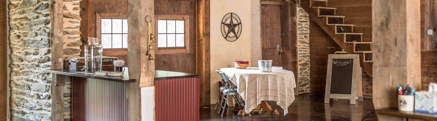 Stable Hollow Construction turned this old barn into an event space