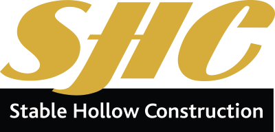 Stable Hollow Construction logo